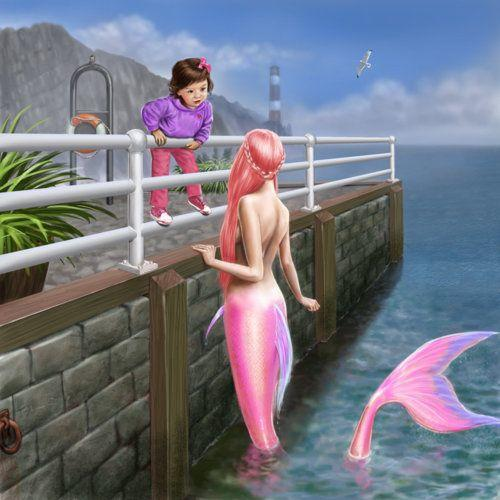 Do you ever wish you could be a mermaid (or merman)?