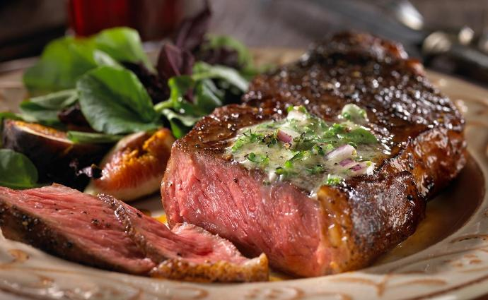What's your favorite place to eat steak, & at what temperature?