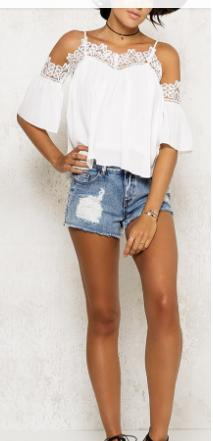 Do you like this top? And the combination with the shorts?