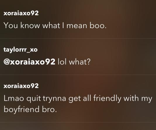 Guys, Boyfriend still in touch with his ex?