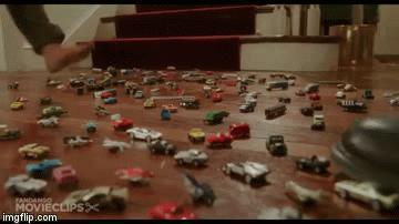 Have you ever accidentally stepped on a toy car?