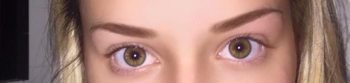 Are these eyes brown or hazel?