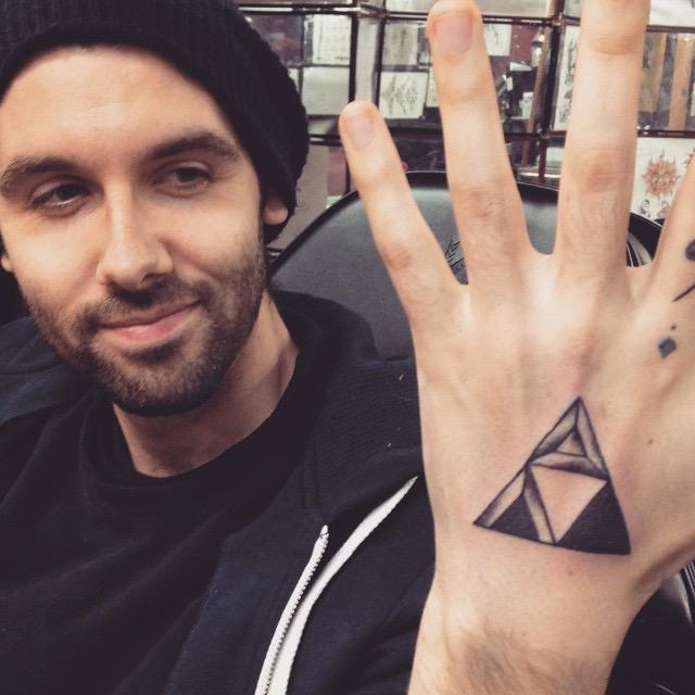 Do you think it'd be cool if I got a triforce tattoo?