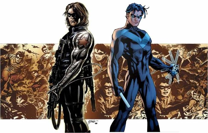 Nightwing vs Winter Soldier. Who would win?