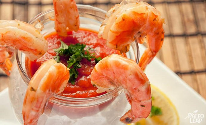 Rate this food: Shrimp cocktail?