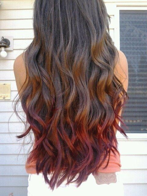 Should I dye my hair like this ?