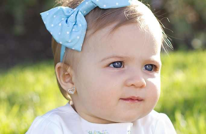 Piercing a baby girl's ears - yay or nay?