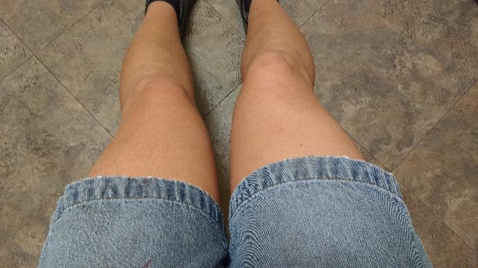 Girls, How do these shorts look on me?