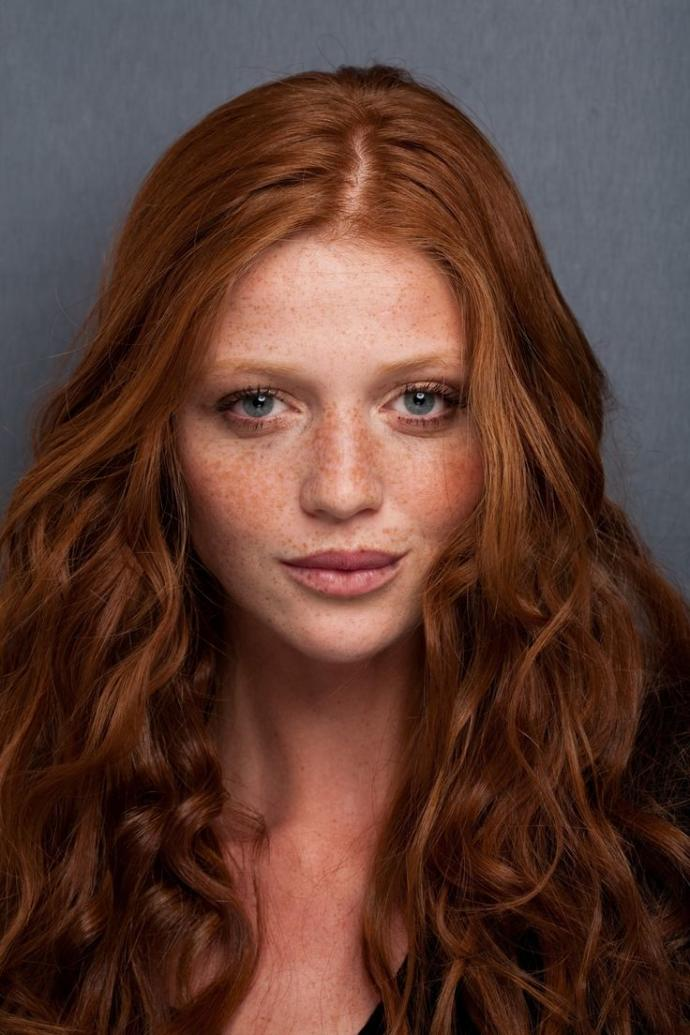 Do people realise that natural redheads tend to have freckles when they say they like redheads?