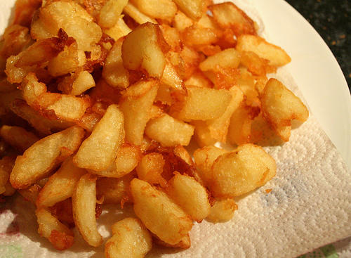 Have you ever made fried potatoes?