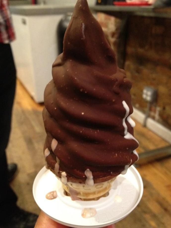 Best places with dip cone ice cream/or just any ice cream cone?