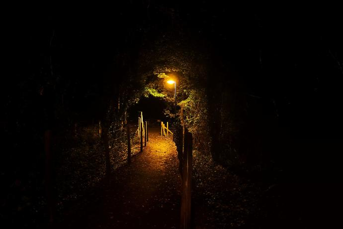 Are any of you scared of walking home when it's dark?