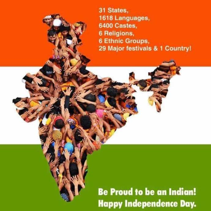 Happy independence day. How many Indians are here in this site?