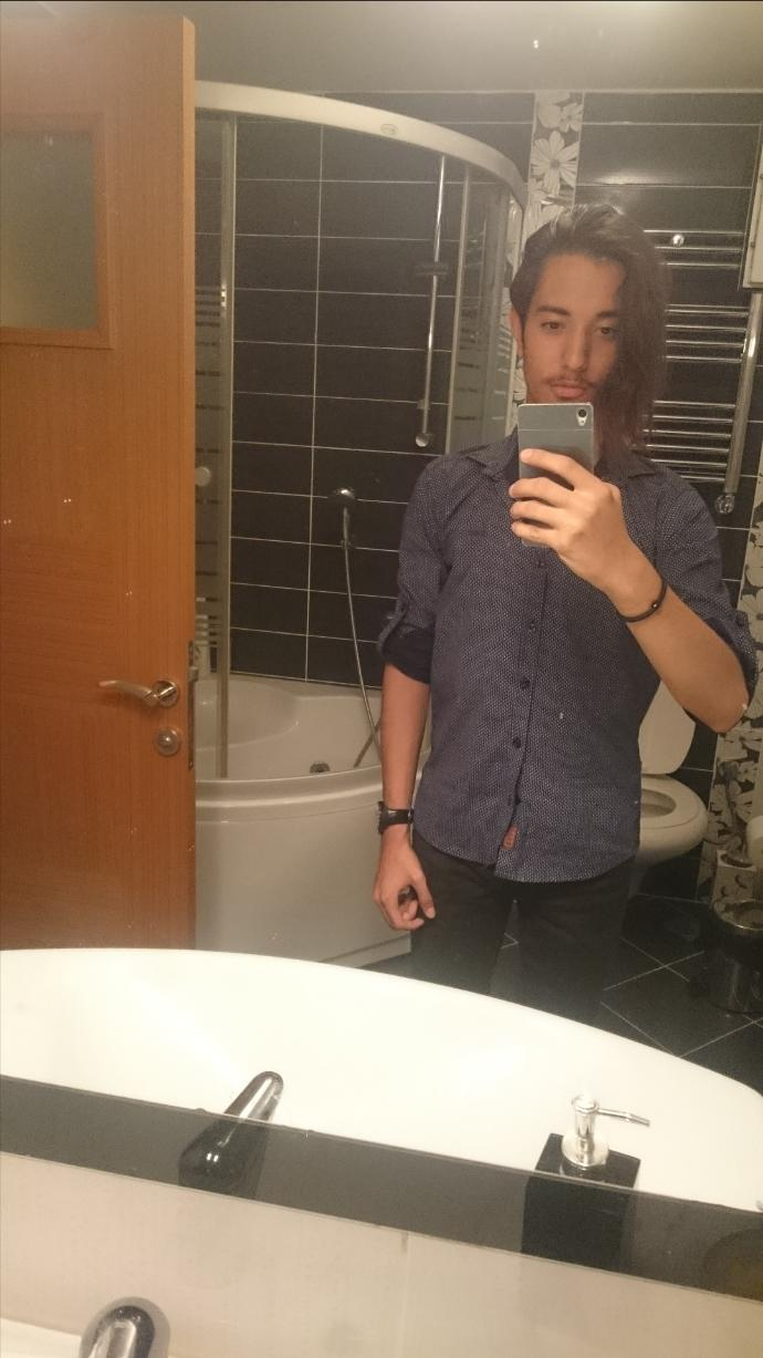 I am going out,how do i look guys?