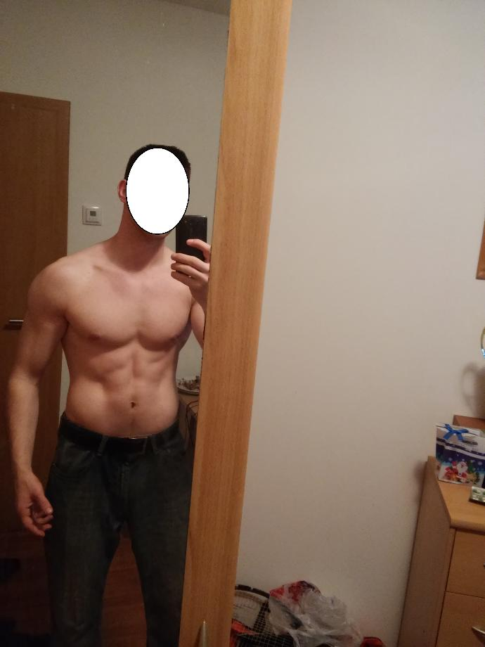 Would my body look beter if I gained more muscle or is it good the way it is or would it be better with less muscle?
