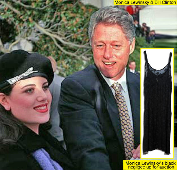 If you were Bill Clinton would you have leave Hilary for Monica Lewinsky?