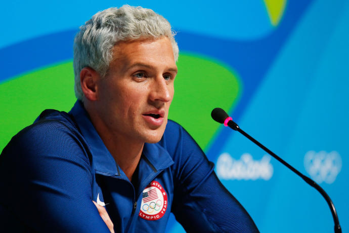 What's your take on the whole Ryan Lochte/Rio robbery story?