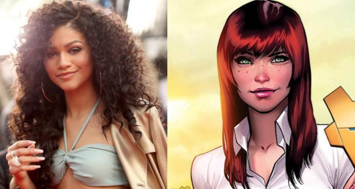 How do you feel about Mary Jane being BLACK in the upcoming Spiderman film?