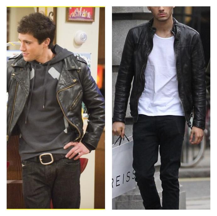 Girls, Which type of leather jacket looks better?