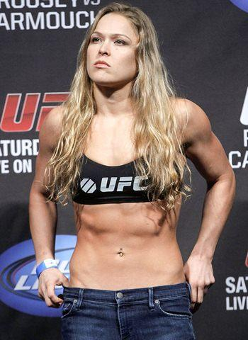 Guys, would you date Ronda Rousey?