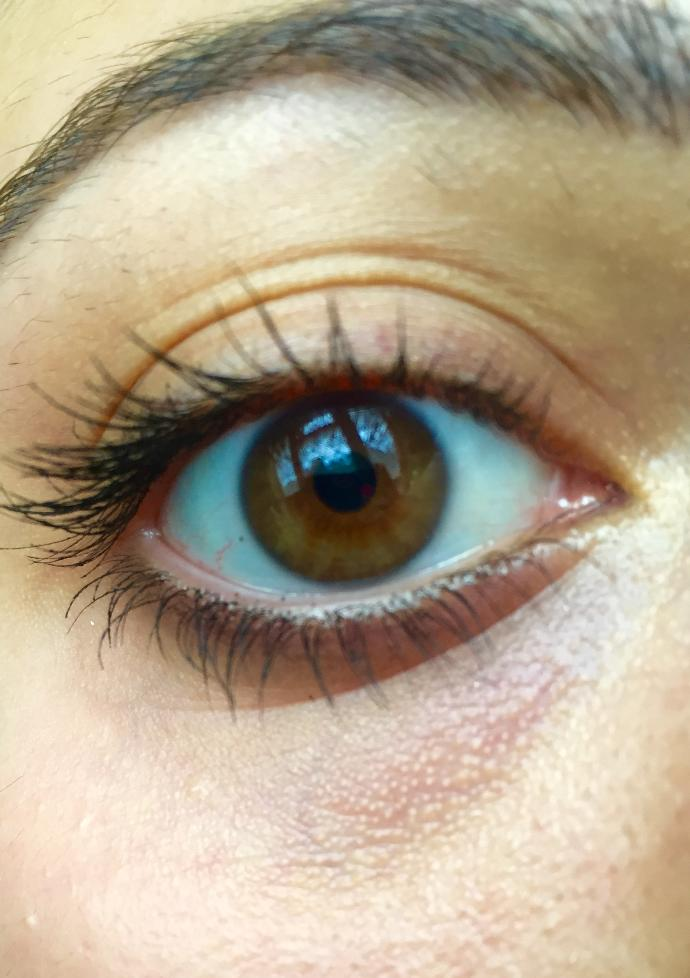 What color is my friends eye?
