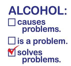 Does alcohol help every situation?