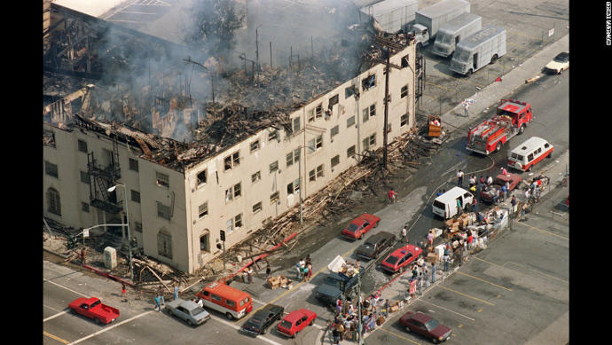 1992 L.A. Riots, what are your thoughts on this incident?