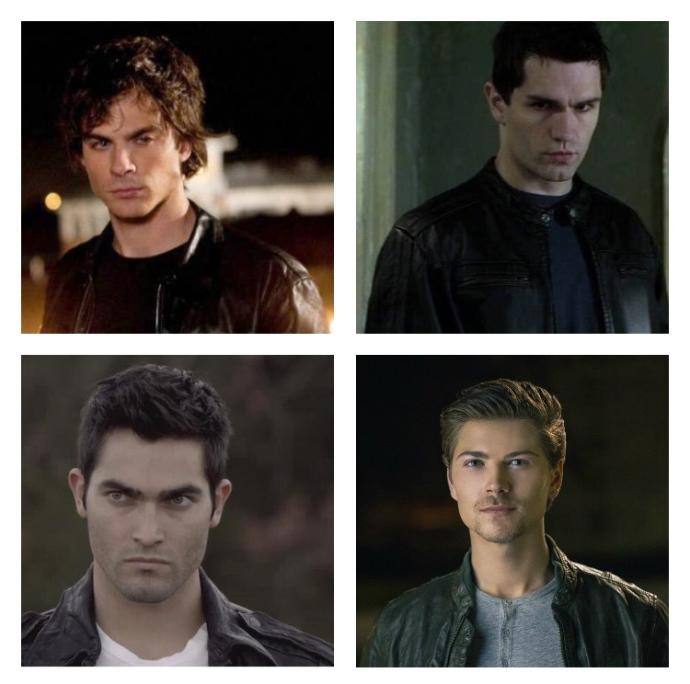 Girls, Out of these 4 guys which one looks more like the stereotypical bad boy?
