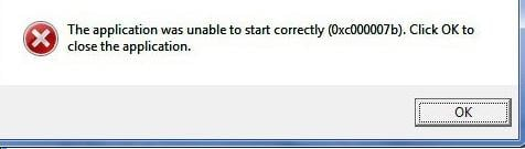 Bioshock Infinite 0xc00007b error?