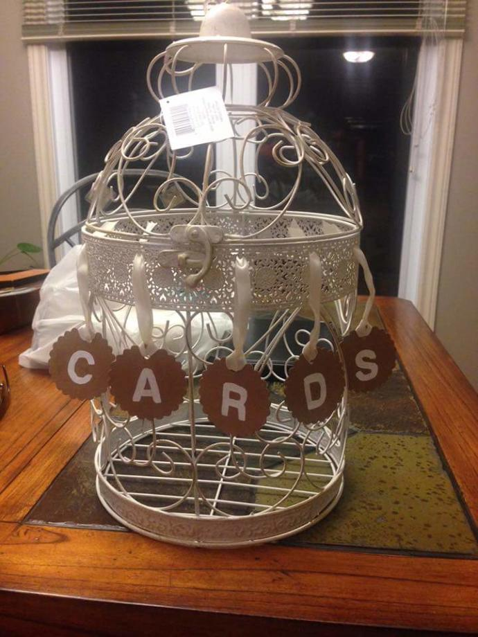 This or this for a wedding card box?