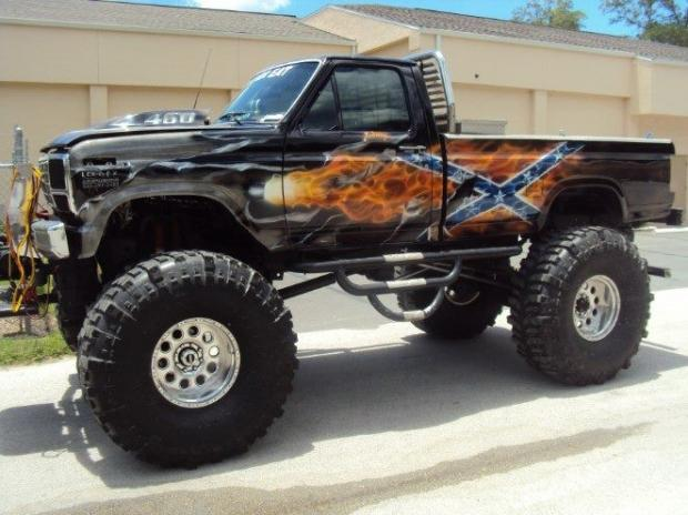 Dose anybody have good guess what the lift-kit is on this country boys dream truck?