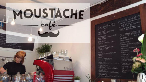 What this moustache means, I see on cafés lately?