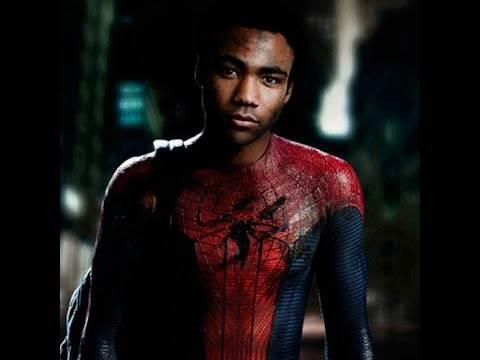 Would you watch a spiderman movie if Peter Parker was black?