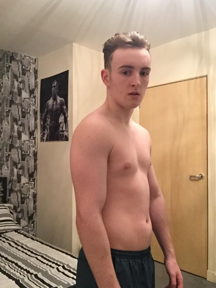 I've been working out a lot recently when I've got the time just wanting to know how you guys think I look?