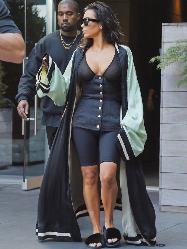 What do you think of this recent outfit KIm Kardashian wore?