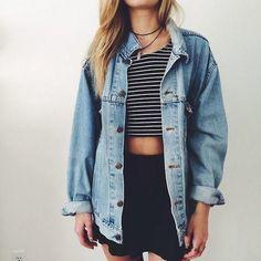 Guys, Do guys like girls in over sized jean jackets?