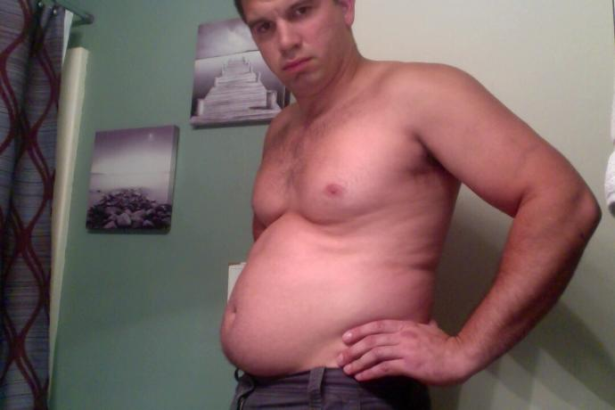 Does anyone else like having a chubby tummy?