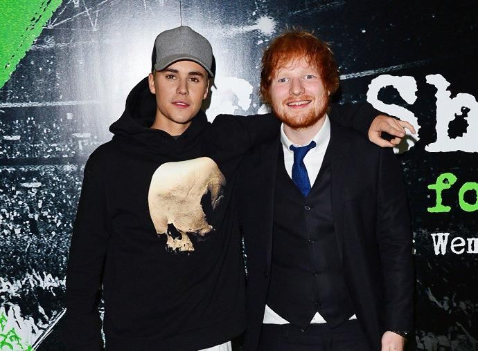 What do you think about Justin Bieber's words about Ed Sheeran?