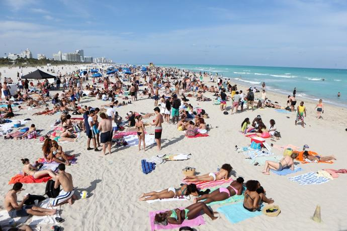 Who's been to South Beach (Miami) in the fall?
