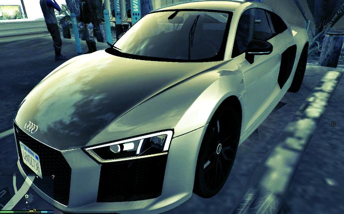 RATE MY NEW AUDI R8 V10 ?