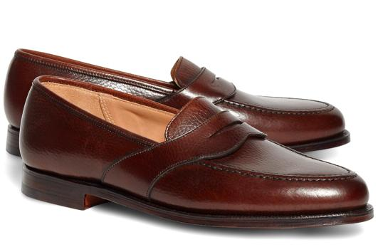 Girls, do like the leather loafer with no sucks look on guys?