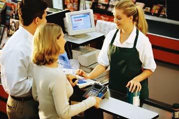 How would you react if a cashier told you to have a horrible day instead of a good day?