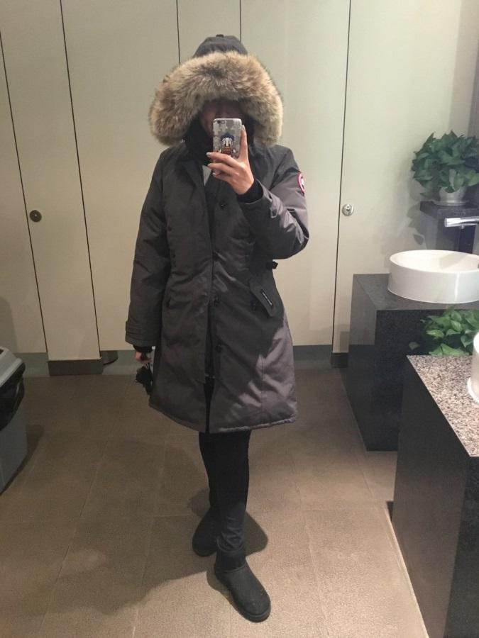 Girls, when do you first bust out the parka?