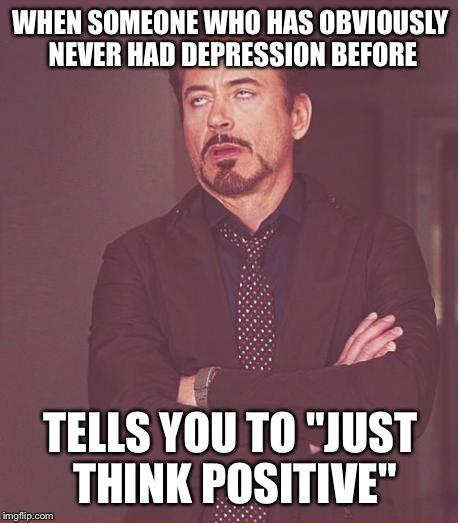 Why are there people in this day and age who believe Depression is made up?
