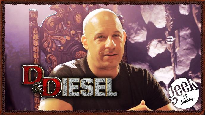 Is Vin Diesel beta cause he plays D&D?