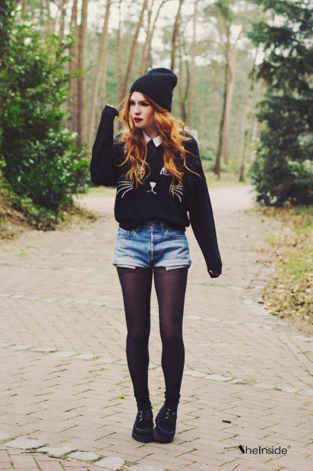 What do you think of tights under shorts?