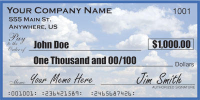 What's the biggest check you ever deposited into your bank account?