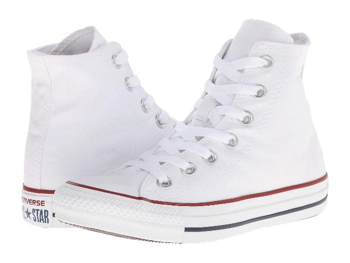 Can a guy wear high top white converse?