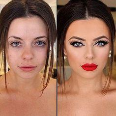 Guys, do you think girls who are only pretty with make up are beautiful?