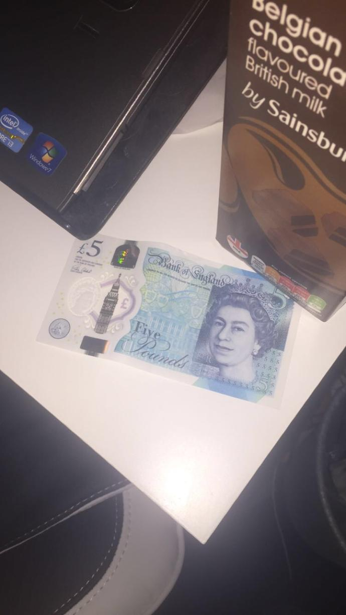 Thoughts on the new plastic £5 note?